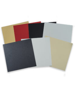 Anodized Aluminum color samples
