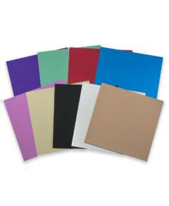 Bright Aluminum color samples