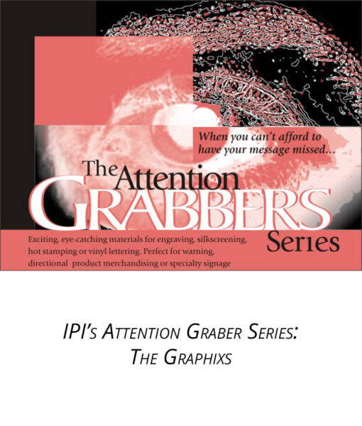 IPI Attention Grabber Series - Graphixs Engravable material from Main Trophy Supply