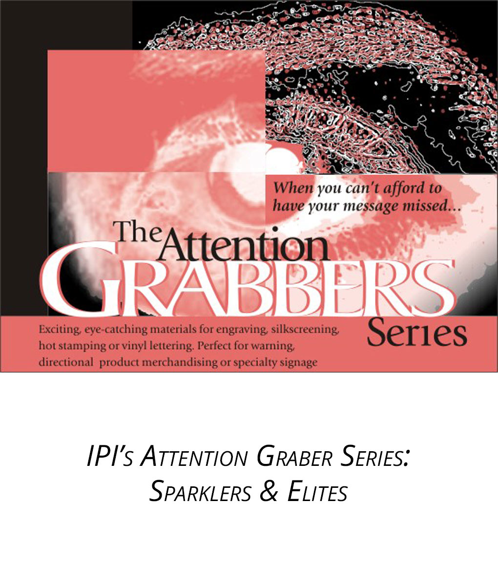 IPI Attention Grabber Series - Sparklers Elites material from Main Trophy Supply