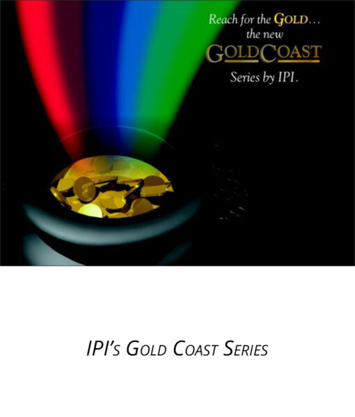 IPI Gold Coast Series engraving material from Main Trophy Supply