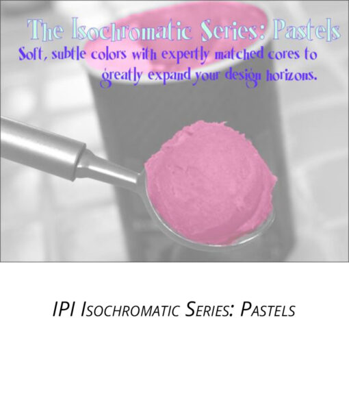 IPI Isochromatic Series - Pastels - engraving material from Main Trophy Supply