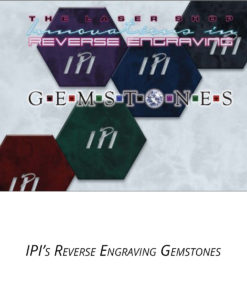 IPI Laser Reverse Engravable Gemstones engraving material from Main Trophy Supply
