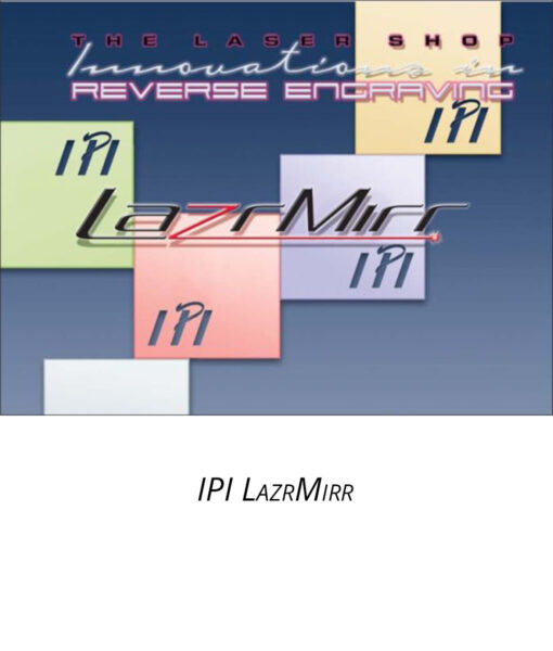 IPI LazrMirr - engraving material from Main Trophy Supply