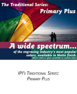 IPI Traditional Series - Primary Plus engraving material from Main Trophy Supply