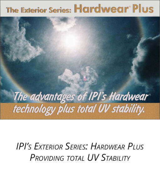 IPI Exterior Series - Hardwear Plus Engravable material Main Trophy Supply