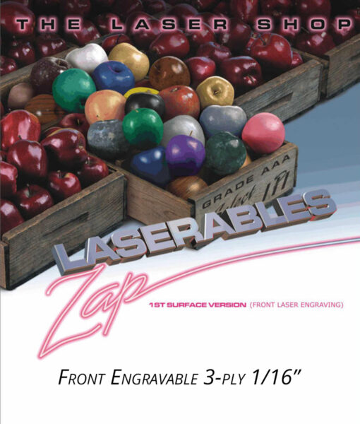 IPI Laserables Front Engravable 1/16 3-ply from Main Trophy Supply