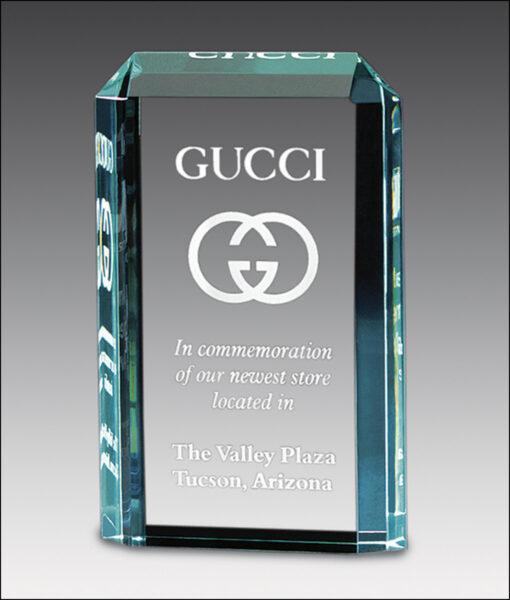 Lexus Acrylic Award from Main Trophy Supply