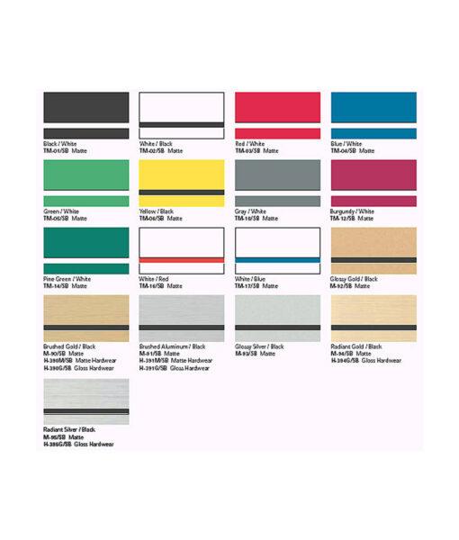 Smart Buy Series - color samples
